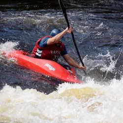 Adult Intermediate Ottawa Kayak School Kayaking Wilderness Tours National Whitewater Park