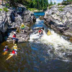 Canada Sea Kayak Wilderness Tours Ottawa Kayak School National Whitewater Park