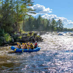 Gentle Trip Rafting Wilderness Tours National Whitewater Park