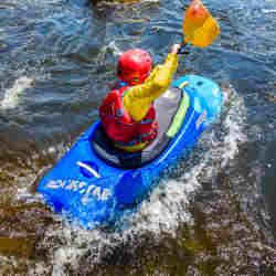 Kids Kayak Week Kayaking National Whitewater Park Canada Ottawa Kayak School Wilderness Tours