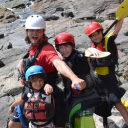 Kids Kayak Week Meet Instructor Wilderness Tours Ottawa Kayak Canada National Whitewater Park
