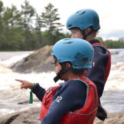 Kids Kayak Week Ontario Canada Gearing Up