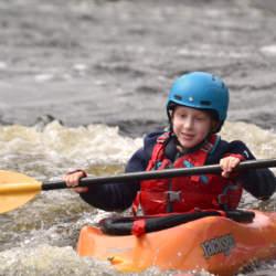 Kids Week Day 4 Kayaking Ottawa Kayak School Wilderness Tours National Whitewater Park Canada