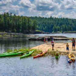 Lunch Sea Kayaking Wilderness Tours National Whitewater Park Ottawa Kayak School