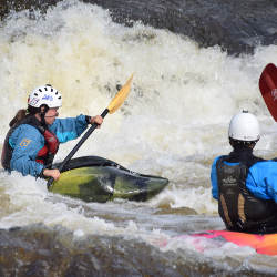 Teen Kayak Camp Day 3 Ottawa Kayak School Wilderness Tours National Whitewater Park