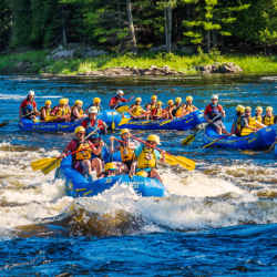 Gentle Rafting Surfing National Whitewater Park Wilderness Tours Canada Ontario