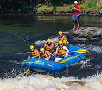 Guide Your Own Raft McCoys Chute Wilderness Tours Adventure Ottawa River Best Summer Trip in Ontario Canada