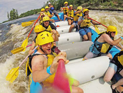 High Adventure Rafting Ottawa River Canada