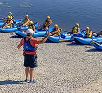 Itinerary SportYak Safety Briefing With Your Pro Kayak Guide