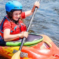 Kids Canada Kayak Week National Whitewater Park Ottawa Kayak School Wilderness Tours