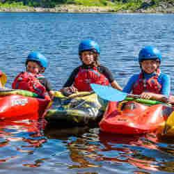 Kids Kayak Week Canada Ottawa Kayak School Wilderness Tours National Whitewater Park