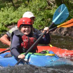 Kids Kayak Week Day 2 Canada Wilderness Tours Ottawa Kayak School National Whitewater Park