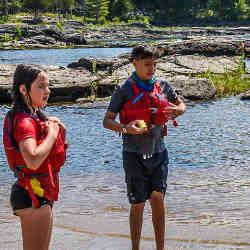 Kids Kayak Week River Ready Canada Ottawa Kayak School Wilderness Tours National Whitewater Park