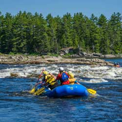 McCoys Chute Gentle Rafting Trip on the Ottawa River