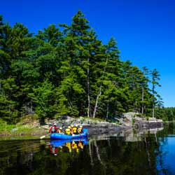 Paddle Training Gentle Rafting Trip Wilderness Tours