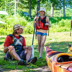 Sea Kayaking Meet Instructor Ottawa Kayak School Canada Wilderness Tours National Whitewater Park