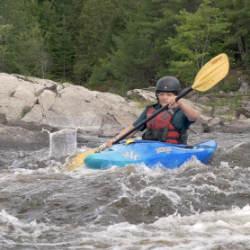 Teen Kayak Camp Kayaking Ontario Canada Ottawa Kayak School National Whitewater Park Wilderness Tours